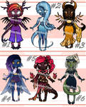 Collab Chibi Adoptable 11 AUCTION - !OPEN! by Chocolate-Pyrus