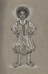 Hobbit Character Sketch by Chocolate-Pyrus