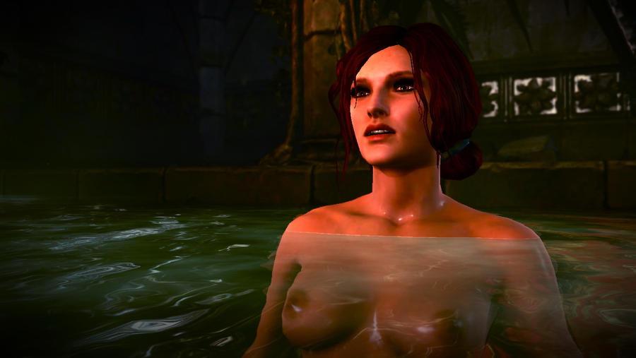 Fur mich sah Triss Merigold im 2. Teil der Witcher Serie noch einmal naturl