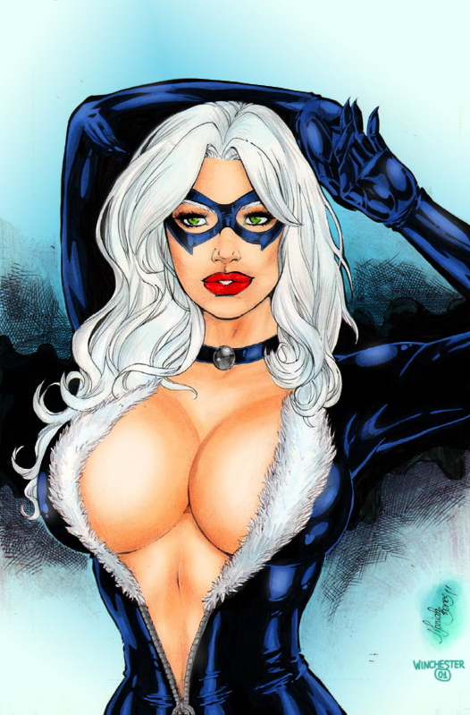Black Cat by Mariah Benes by winchester01