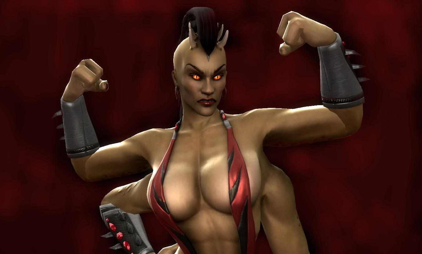 Sexy naked pictures of sheeva from mortal  hentai picture
