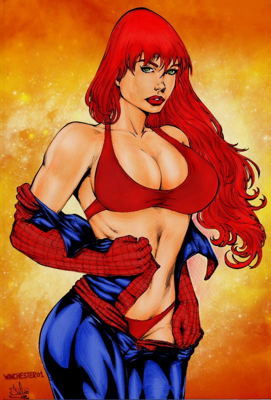 Mary Jane Watson by Fabio by winchester01
