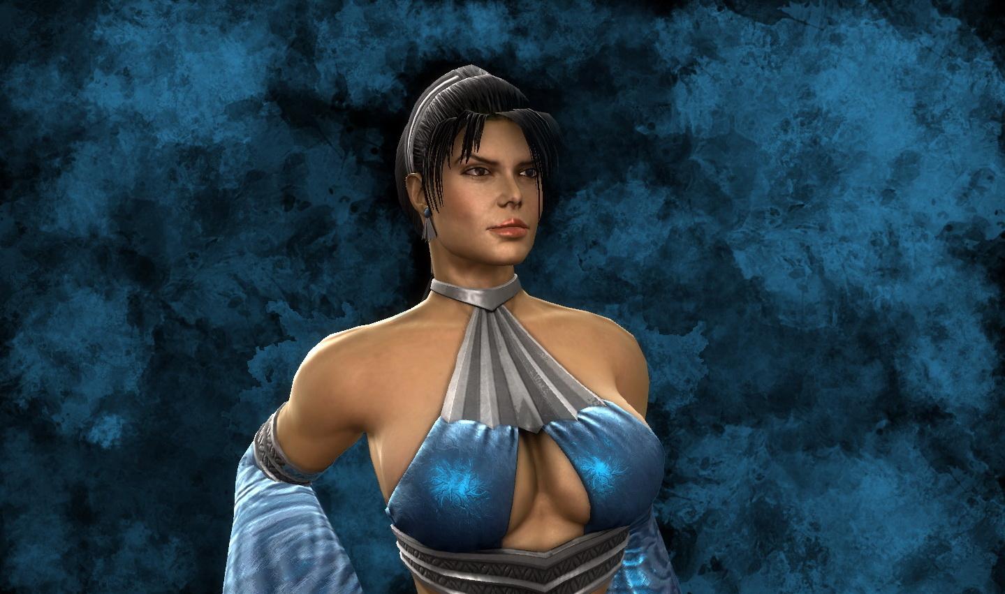 Mortal Kombat Unmasked Kitana By Winchester01 On Deviantart