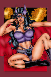 Marcio Abreu Huntress (Inks By Madman1) by winchester01