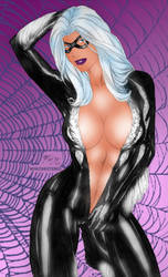Black Cat by Fred Benes