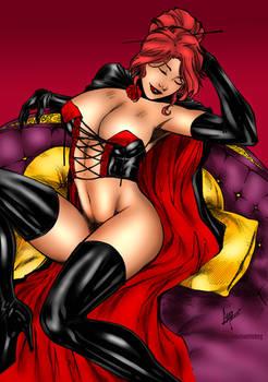 Black Queen By Caio