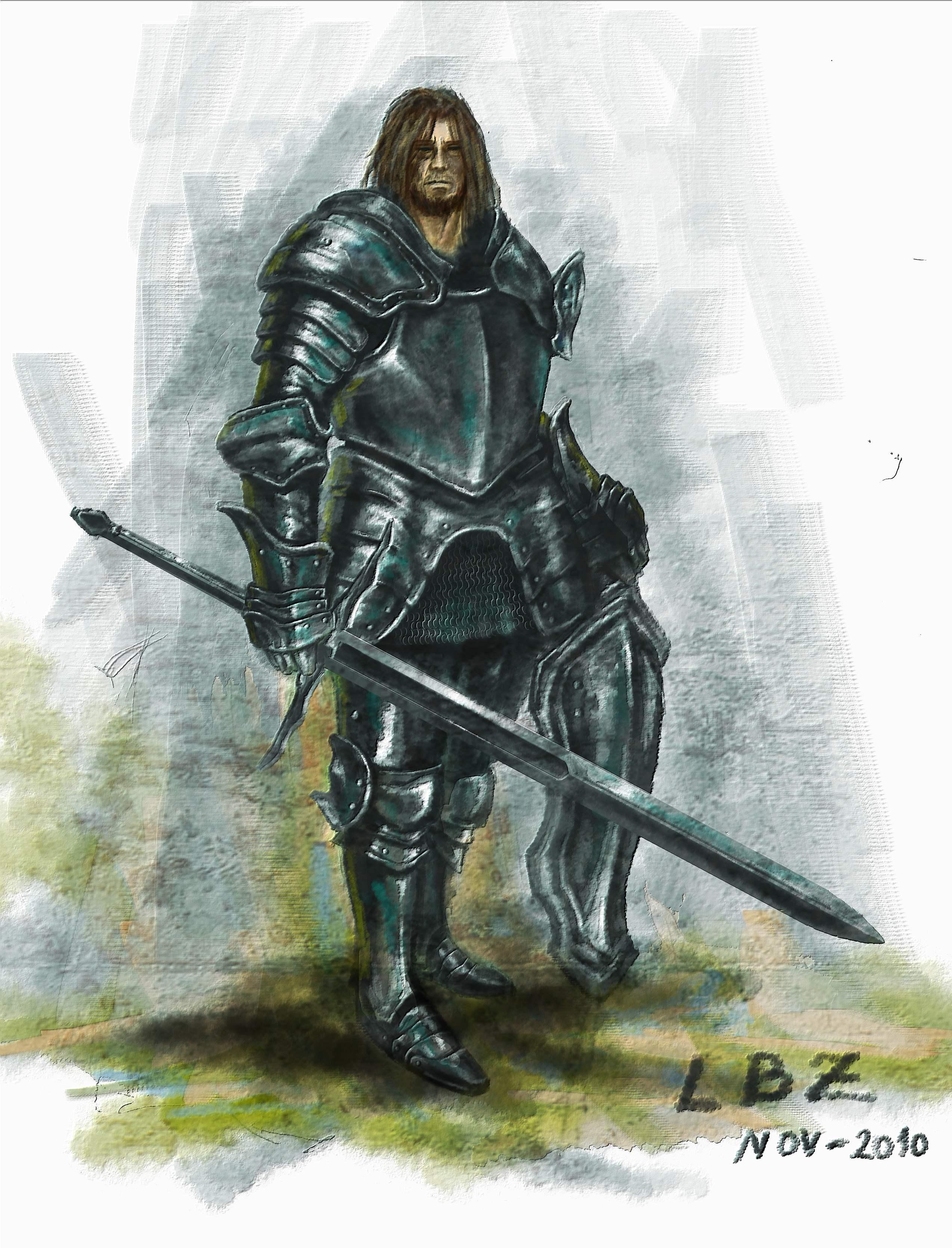 Medieval Knight by LuBruZ on DeviantArt