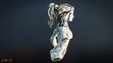 My first Virtual Reality Sculpture 1 by LuBruZ