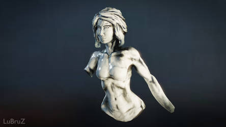 My first Virtual Reality Sculpture 2 by LuBruZ
