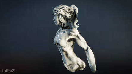 My first Virtual Reality Sculpture 3 by LuBruZ