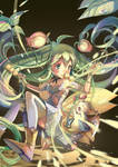 [Puzzle and Dragons]Mystical Forest Pixie, Alraune