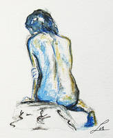 Blue back by LauraMSS