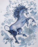 The unicorn by LauraMSS