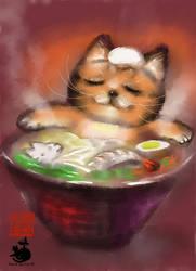Ramen cat