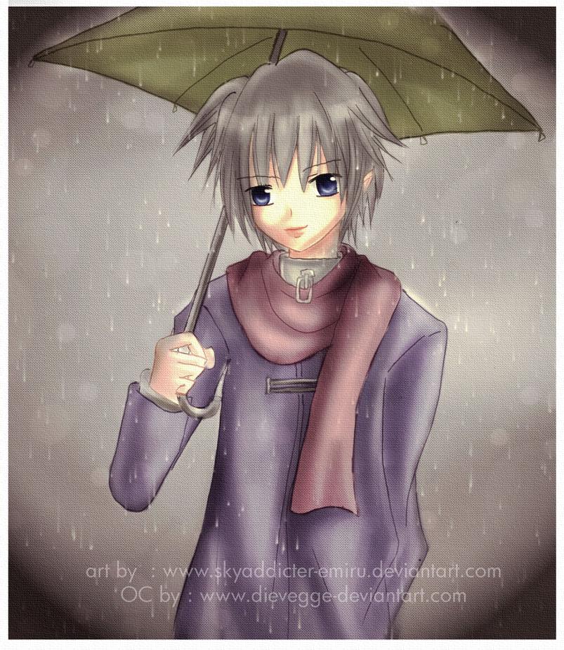 req : under the rain by skyaddicter-emiru