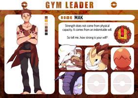 Pokemon Rainbow: Ground Gym Leader by Promsien