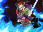 Link: Sacred Blue Flame