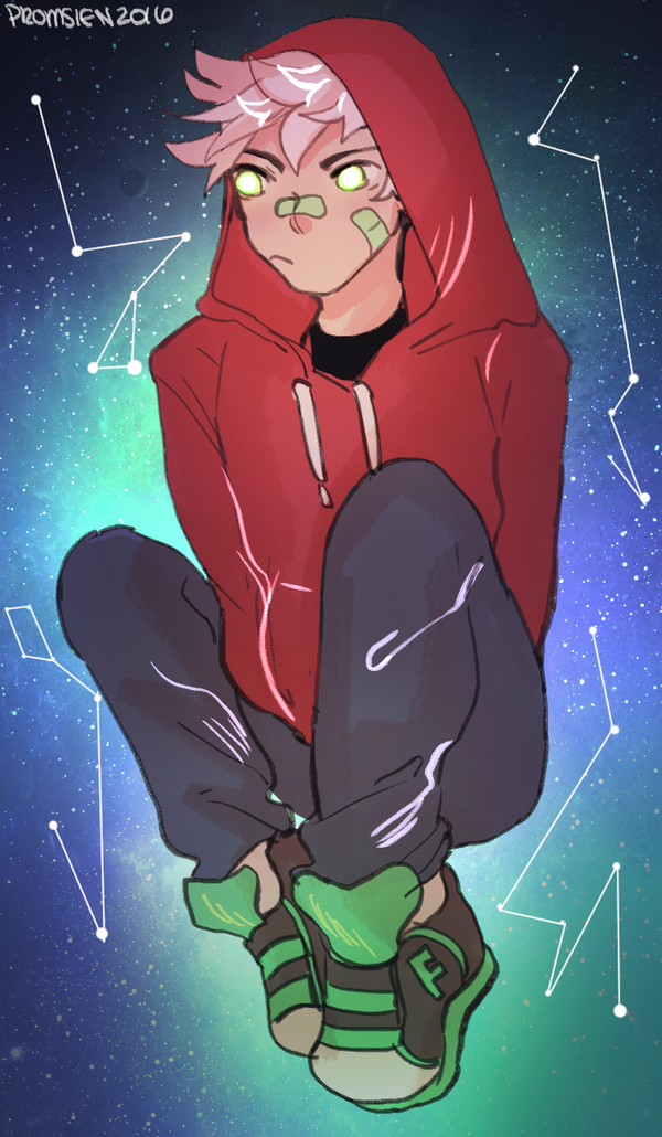 Space Ghost Boy by Promsien on DeviantArt