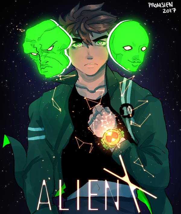Alien x ben 10 by promsien on deviantart - Ben ten alien x ...