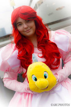 Ariel The little mermaid cosplay
