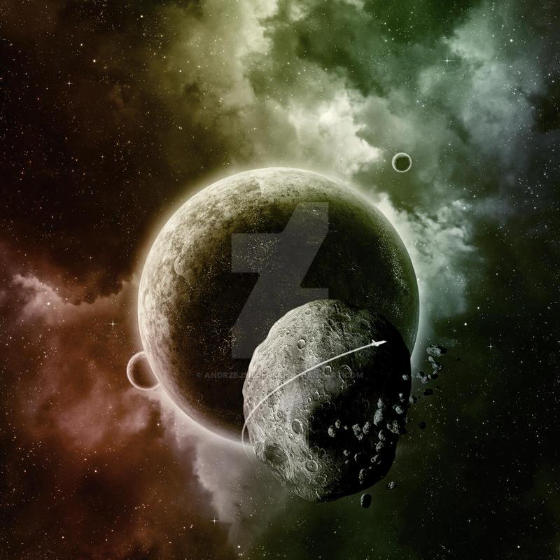 Asteroid by andrzejsiejenski