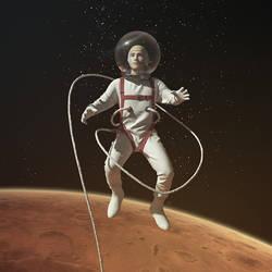 Spacewalk by andrzejsiejenski