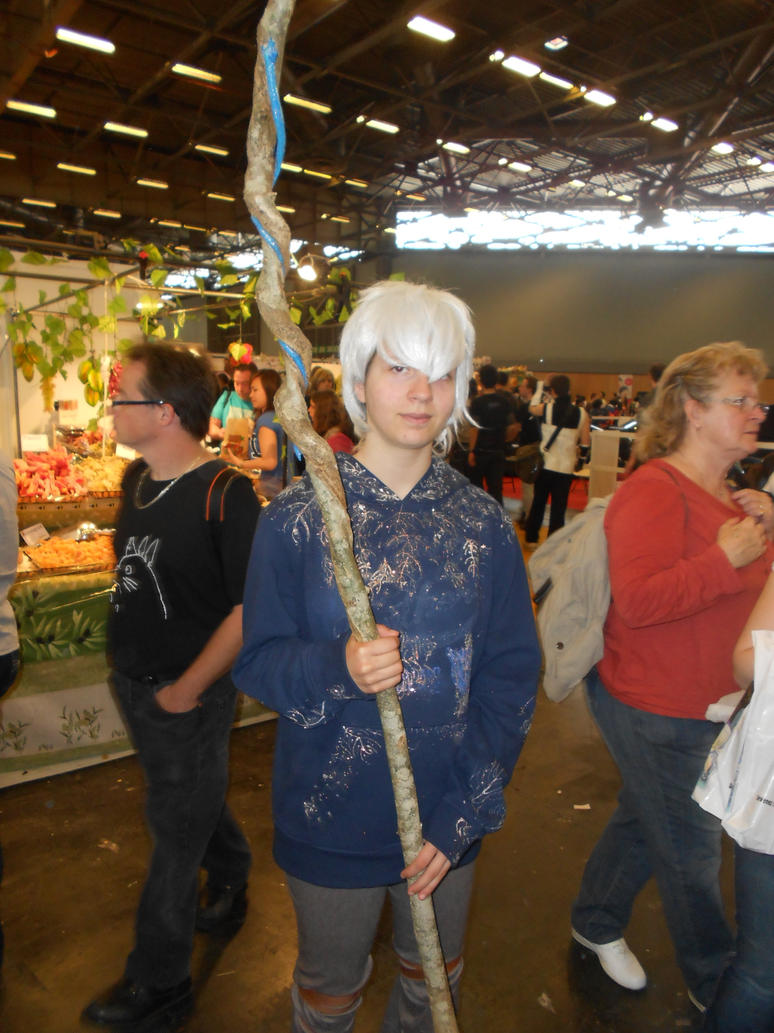 how to make a jack frost cosplay