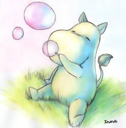 Moomin Troll by Inarah