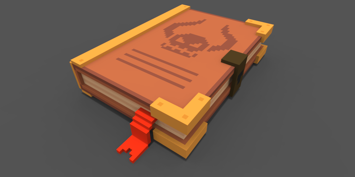 Black Magic Spellbook by rubengcdev