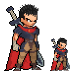 LSW Guts (Gatsu) from Berserk by rubengcdev