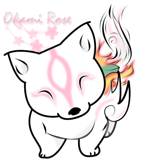 Okami Chibi by FeiticeiraRose on DeviantArt