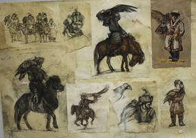 Sketches '13 by Zionka