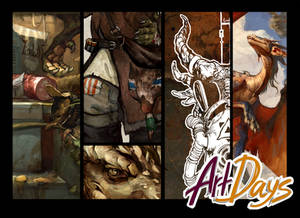 Dragons for artbook