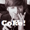 John Lennon and his coke by topymuffins