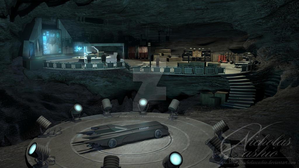 Batcave Maya Render By Nicholascashio On Deviantart
