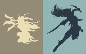 Akali and Katarina - League of Legends