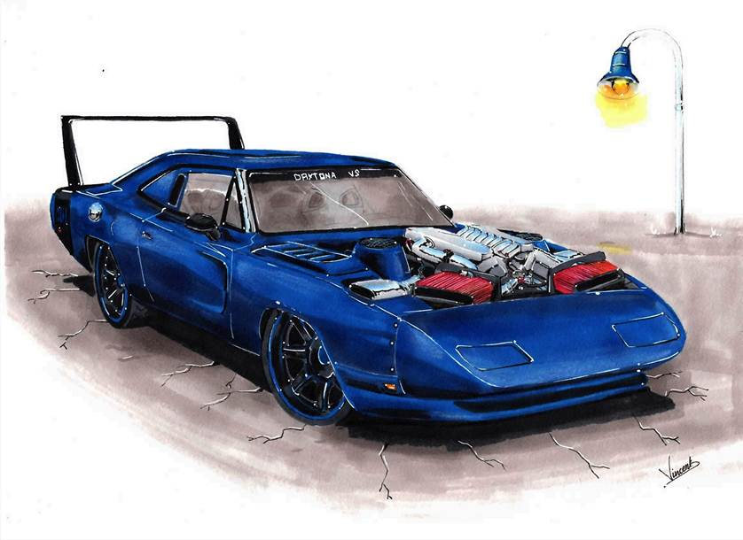 Dodge Charger Daytona RT by vsdesign69