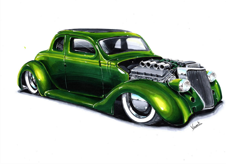 Ford Coupe 36 Hot Rod By Vsdesign69 On Deviantart