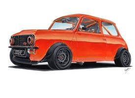 Mini 1275 GT by vsdesign69