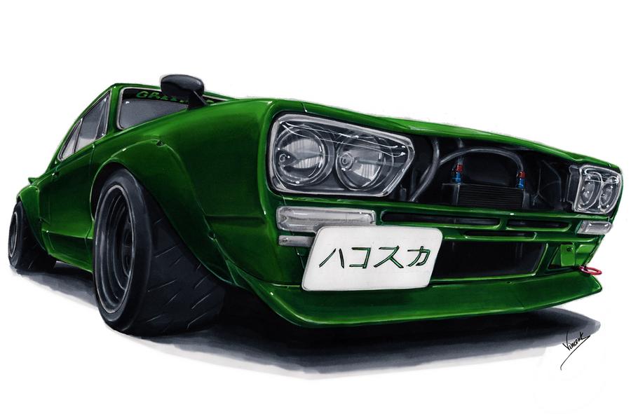 Hakosuka by vsdesign69