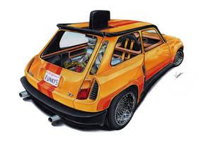 Renault 5 Turbo Funky Five by vsdesign69