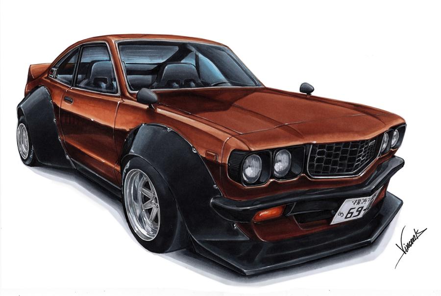 Mazda RX3 Bosozoku by vsdesign69