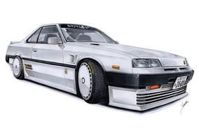 Nissan Skyline 2000 RSX Turbo Rocket by vsdesign69