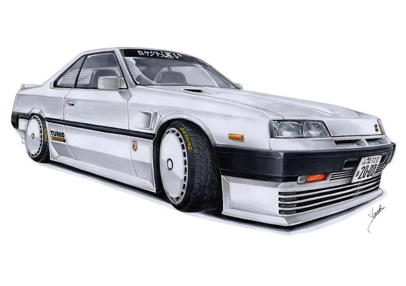 Nissan Skyline 2000 RSX Turbo Rocket by vsdesign69