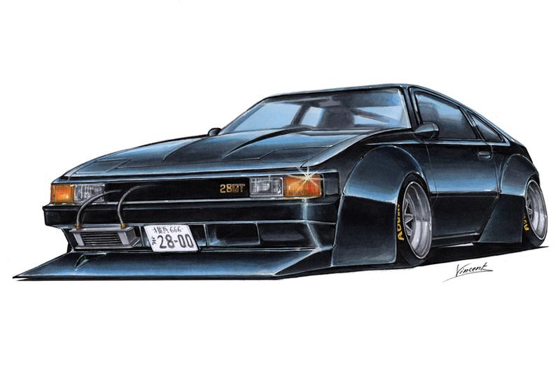 Toyota Celica Bosozoku by vsdesign69