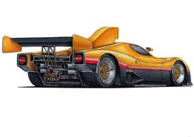 80s Street Racer by vsdesign69
