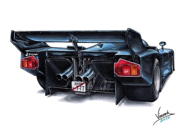 Lamborghini Countach Group C By Vsdesign69 On Deviantart