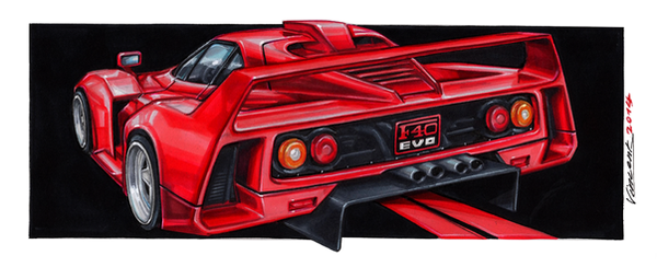 Ferrari F40 Evo by vsdesign69