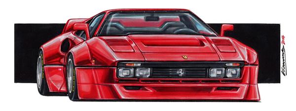 Ferrari 288 GTO XXL by vsdesign69 ...