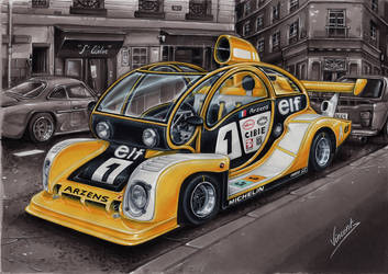 Paul Arzens Carrosse Le Mans by vsdesign69